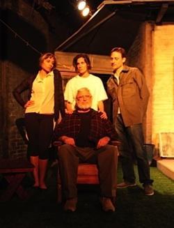 Aliah Whitmore (l.), Daniela Ruah, James Whitmore Jr., Dustin Seavey