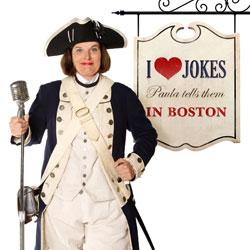 I Heart Jokes: Paula Tells Them in Boston
