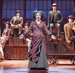 Hello Dolly: Nancy Opel and cast (Photo by Carol Rosegg)