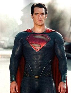 "Henry Cavill in ""Man of Steel"""