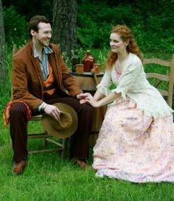 Matthew Keffer and Kate McDermott in 'Cymbeline'