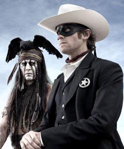 Johnny Depp and Armie Hammer star in 'The Lone Ranger'