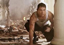 Tatum Channing stars in 'White House Down'