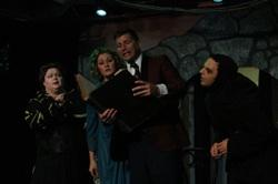 Cathe Payne, Misty Lynn Barber and Jeffery Brown in 'Young Frankenstein: The Musical'