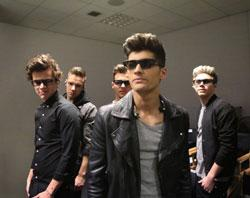 "One Direction (Liam Payne, Harry Styles, Zayn Malik, Niall Horan, Louis Tomlinson) in a scene from ""One Direction: This is Us 3D"""