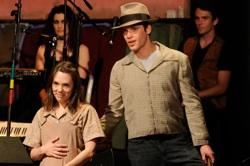 Jessica Crandall and Alex Curtis in John Steinbeck's 'The Grapes of Wrath'