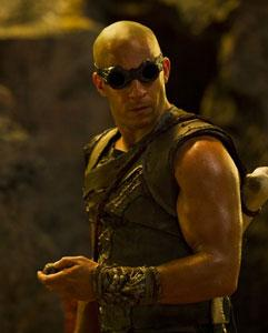 Vin Diesel is back for a furious third bite in 'Riddick'