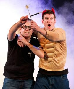 Jeff Turner and Daniel Clarkson in 'Potted Potter'
