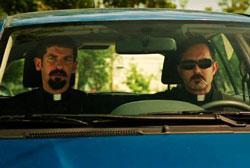 Robert Ben Garant and Thomas Lennon star in 'Hell Baby'