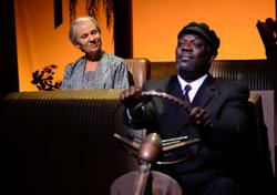 """Lindsay Crouse and Johnny Lee Davenport in """"Driving Miss Daisy"""""""