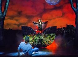 Norbert Leo Butz and Ciara Renee in 'Big Fish'