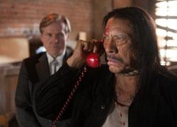 William Sadler and Danny Trejo in a scene from 'Machete Kills'