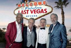 Robert De Niro, Michael Douglas, Morgan Freeman and Kevin Kline star in 'Last Vegas'