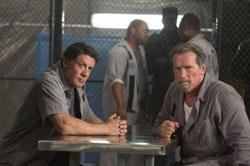 Sylvester Stallone and Arnold Schwarzenegger star in 'Escape Plan'