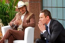 Brad Pitt and Michael Fassbender star in 'The Counselor'