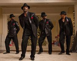 Morris Chestnut, Taye Diggs, Terrence Howard and Harold Perrineau star in 'The Best Man Holiday'