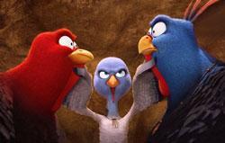 A scene from 'Free Birds'