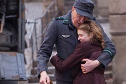 Geoffrey Rush and Sophie Nélisse star in 'The Book Thief'