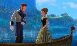 A scene from 'Fozen'