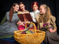The cast of 'Little Women' at ArtsWest