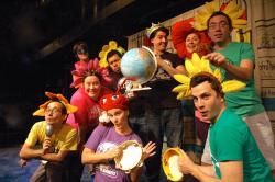 Barrel of Monkeys company members perform