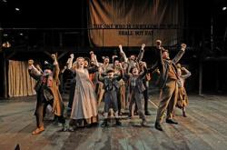 The cast of 'Oliver!' at Trinity Rep