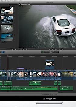 Final Cut Pro editing software