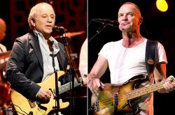 Paul Simon and Sting team up to make music