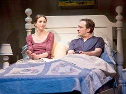 Marin Hinkle as Karen & Jeremy Shamos as Gabe in 'Dinner with Friends
