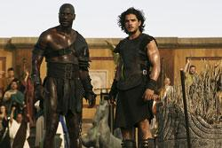 Kit Harington stars in 'Pompeii'