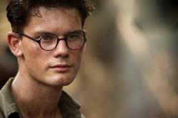 Jeremy Irvine stars in 'The Railway Man'