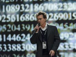Johnny Depp stars in 'Transcendence'