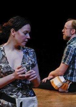 "Becca A. Lewis and Bob Mussett in ""Far Away"""