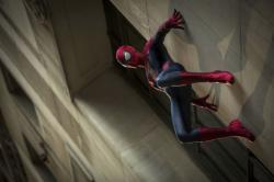 A scene from 'The Amazing Spider-Man 2'