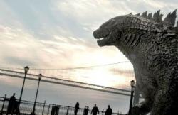 Godzilla stars as himself in his newest eponymous flick