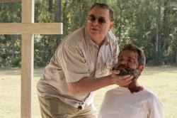 Gene Jones and AJ Bowen star in 'The Sacrament'