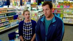 "Drew Barrymore and Adam Sandler in a scene from ""Blended."""
