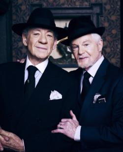 Ian McKellen and Derek Jacobi star in 'Vicious'