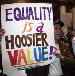 ACLU Asks Holder About Indiana Gay Marriages