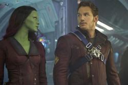 Zoe Saldana and Chris Pratt star in 'Guardians of the Galaxy'