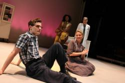Conor William Wright, Joleen Wilkinson, Ann Talman, and Jasmine Rush in 'The Forgetting Curve'