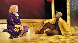 Jennifer Ellis and Maurice Parent in SpeakEasy Stage's production of 'Far From Heaven'