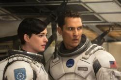 Matthew McConaughey, Anne Hathaway and David Oyelowo star in 'Interstellar'