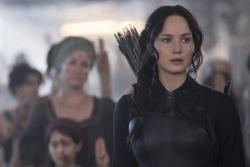 Jennifer Lawrence stars in 'The Hunger Games: Mockingjay - Part 1'