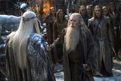 A scene from 'The Hobbit: The Battle of the Five Armies'