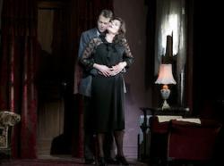 Daniel Okulitch and Leann Sandel-Pantaleo in 'Enemies: A Love Story'