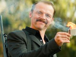 Simon Pegg stars in 'Kill Me Three Times'