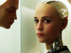 A scene from 'Ex Machina'