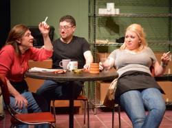 Maureen Adduci, Mikey DiLoreto, and Lisette Marie Morris in 'Lifers'