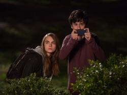 Cara Delevingne and Nat Wolff star in 'Paper Towns'